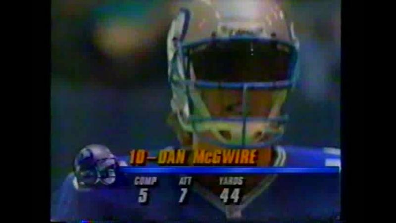 NFL 1992-1993, Week 06, 11.10.1992, Seattle Seahawks - Dallas Cowboys, 1 половина, Американский футбол, EN