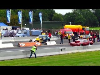 Explosion dragraces drachten 2011 compilation (part 1) [720p hd]