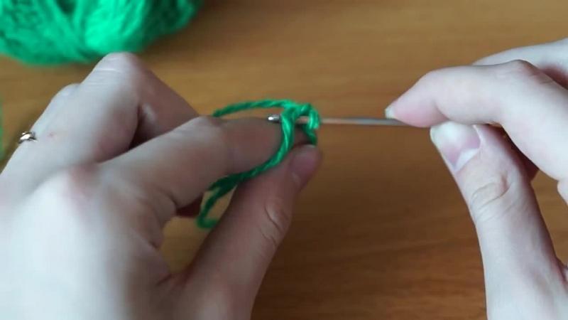 Видеоурок №1 Вязание крючком Кольцо Амигуруми