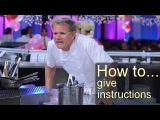 BBC How to... give instructions (transcript video)