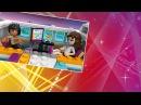 Cartoon LEGO Friends FLYING a Plane Мультик Лего Френдс  ПОЛЕТ на Самолете