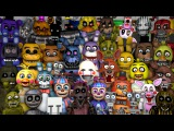 FNAF World Animatronics Reaction | FNAF SFM