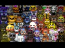 FNAF World Animatronics Reaction FNAF SFM