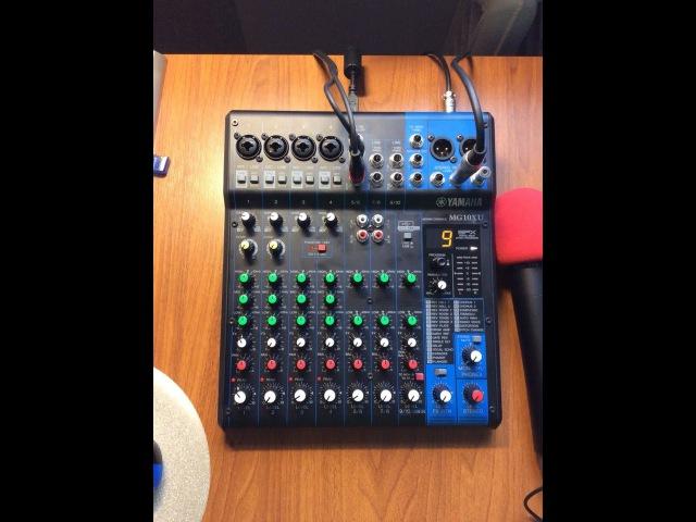 Обзор микшера Yamaha MG10XU Mixer Yamaha MG10XU
