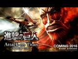 Attack on Titan(Атака Титанов)►Официальный Трейлер Игры HD 1080p