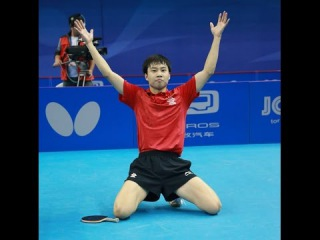Настольный теннис. Yuto Muramatsu vs Yu Ziyang (WJTTC 2014) Final