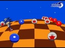 Лунная походка в бонус этапе Соник 3 Moonwalk in the special stage of Sonic 3