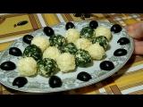 Сырные шарики новогодний рецепт