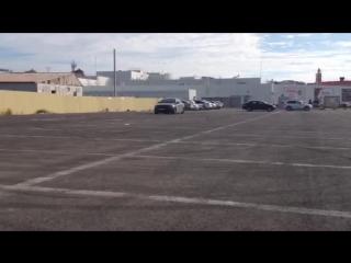 Раздвоенный выхлоп Chevrolet Cruze