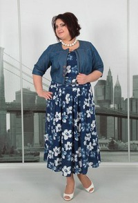 90bde9e18eb Женская одежда в Самаре больших размеров