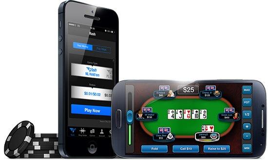 мобильный покер iPhone 6