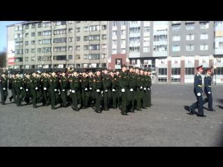 9 мая в выборге! колонна 138 бригады(женская коробка)