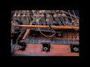 CUMBERLAND - MODEL ship in detail (photo)