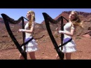 SCORPIONS - Send Me An Angel - Harp Twins (Camille and Kennerly) HARP ROCK/METAL