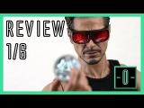 Hot Toys Tony Stark Arc reactor creation set review - 1/6 MMS273 - Iron Man 2