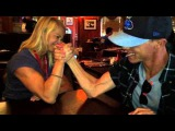 Battle of the Sexes: Dennis and Judis producer arm wrestles female intern