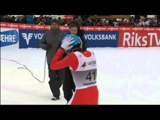 Dimitry Vassiliev 254 m Vikersund 2015 Fall HD !