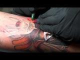 Samurai Tattoo by Jason Dunn