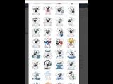 Как бесплатно получить новые смайлики которые стоят 9 голосов вконтакте!