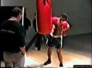 Тайсон тренировка с Кевином Руни Работа на мешке