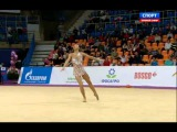 Salome Pazhava. 2015 Moscow Grand Prix. AA. Ribbon