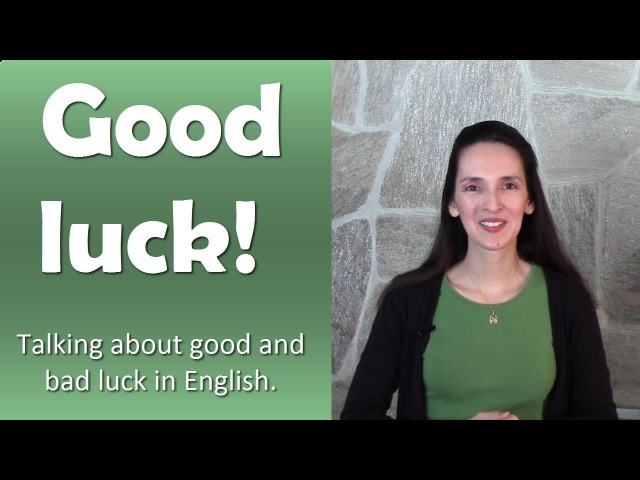 Idioms and Expressions about LUCK - English Language Notes 16 - Happy St. Patrick's Day!