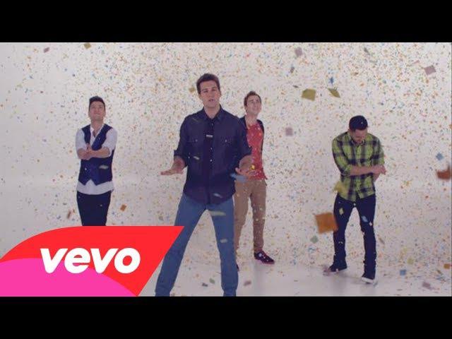 Big Time Rush - Confetti Falling (Video)
