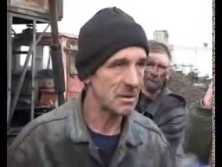 Реальный прикол про шахтеров)