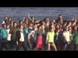 Классный Флэшмоб в Питере на воде!!!  Выпускной 2012