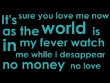 No Money No Love - David Guetta &amp Showtek ft. Elliphant &amp Ms Dynamite (Lyric)