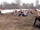 Русские против Дагестанцев(Дагов)Драка толпа на толпу)