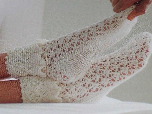 Ажурные носочки (6 фото) - картинка
