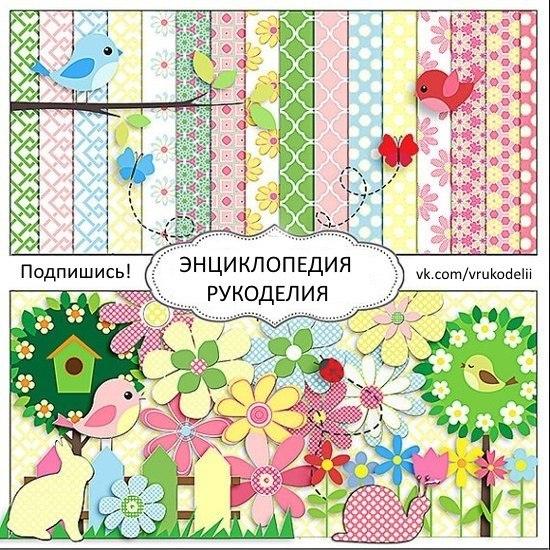 Схемы плетения, вышивки