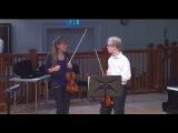 Nicola Benedetti Violin Masterclass at the RCM Johannes Marmen