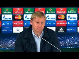 Главный тренер БАТЭ о разгромном поражении от донецкого «Шахтера»