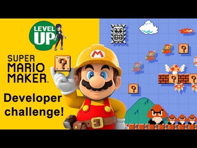 Super Mario Maker Developer Challenge!