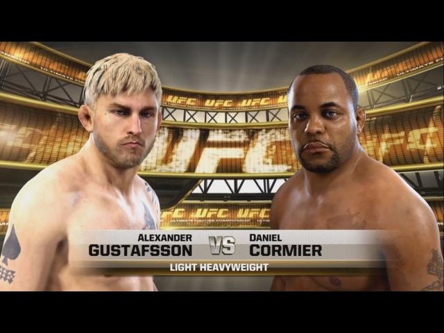 EA SPORTS UFC Александр Густаффсон против Даниэля Кормье