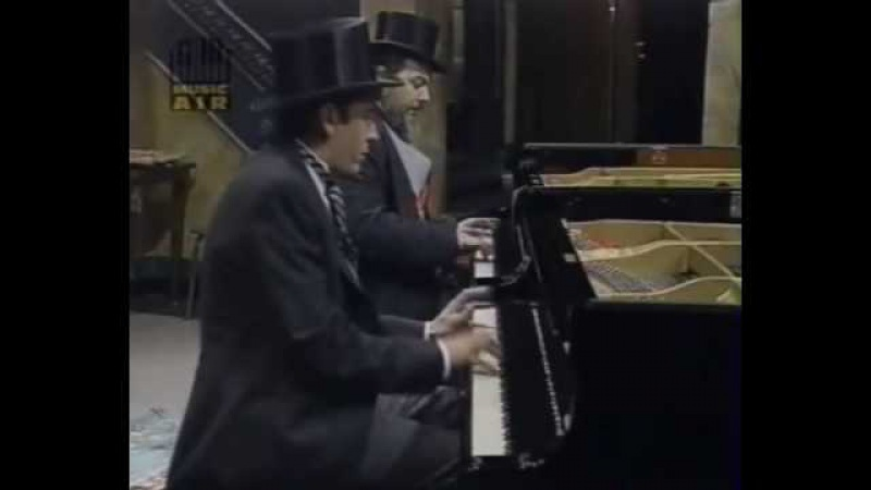 Four-hands boogie woogie: Dr John Jools Holland