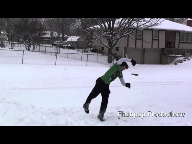 Michael Guthrie Triple Corks In snow SNOW DAY!