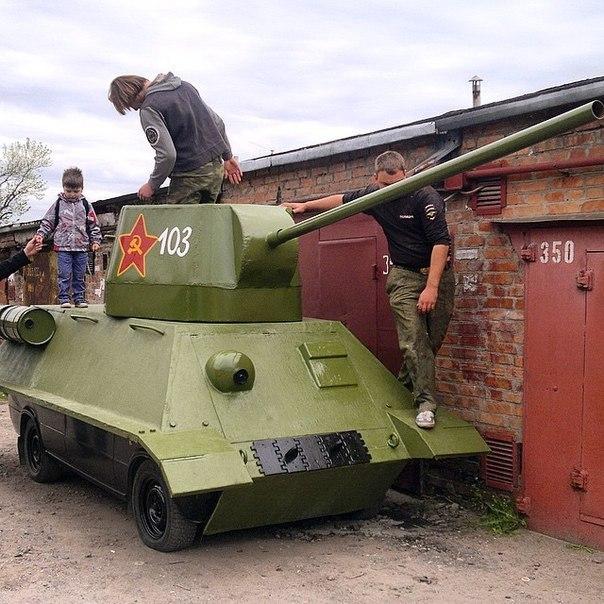8 и 9 мая в Таганроге на улицах города можно будет увидеть танк Т-34