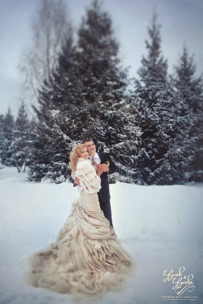 Свадебные меховые шубки