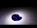 Natural Unheated Kashmiri Purplish Blue Sapphire vivid blue 6.90 carats