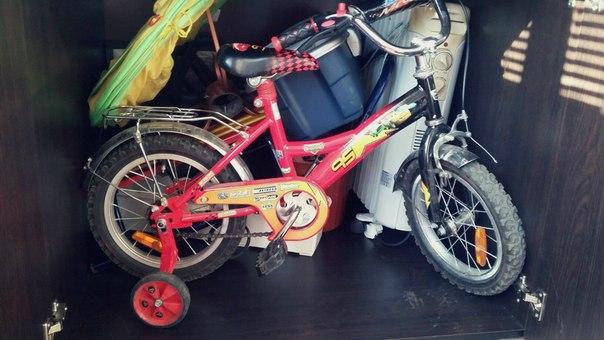 Х колесный детский велосипед тачки