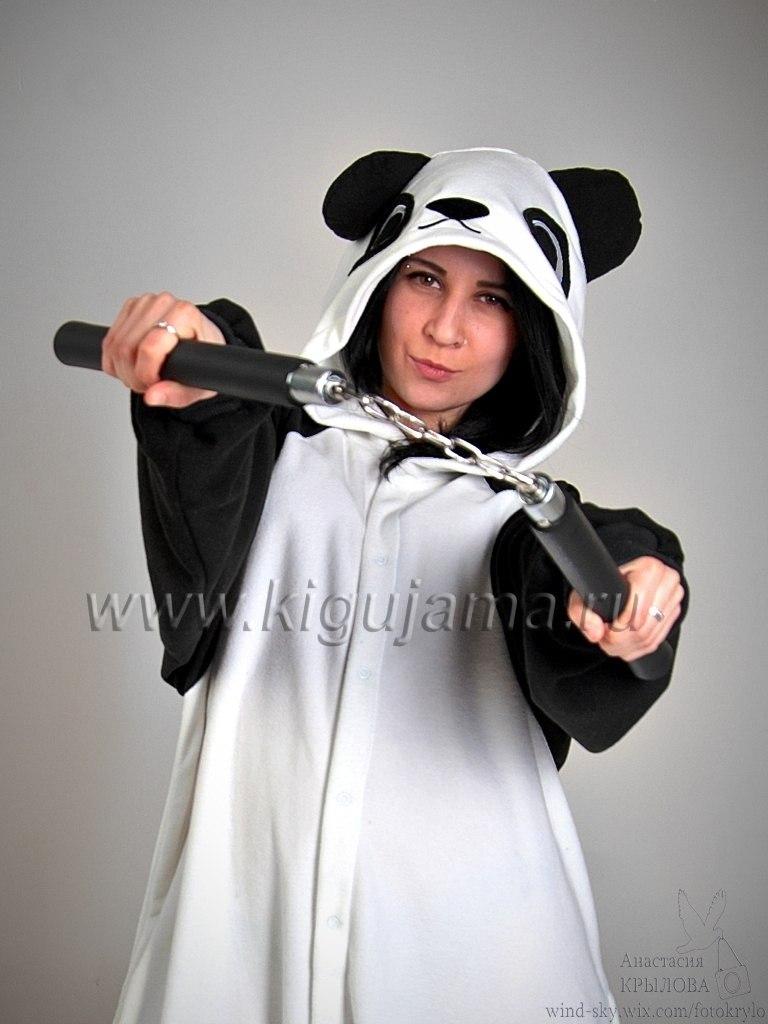 Хитовая пижамка кигуруми Панда от Кигужама