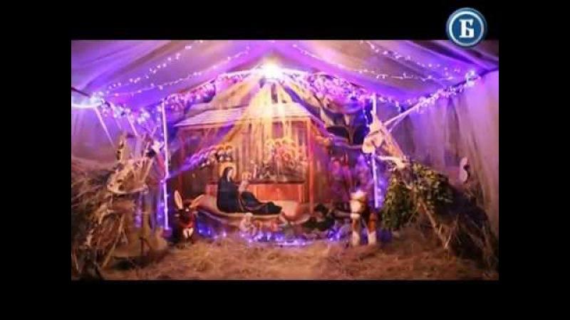 Рождество Христово в храме Боголюбивой Иконы Божией Матери, с. Ивановка