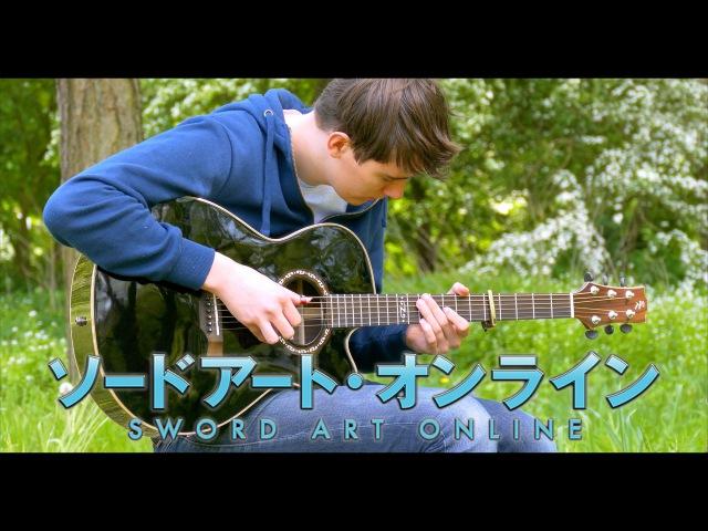 Crossing Field - Sword Art Online OP1 - Fingerstyle Guitar Cover