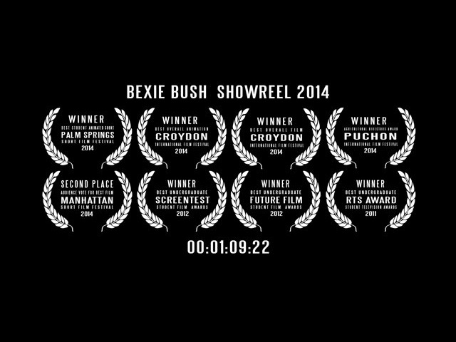 Bexie Bush Showreel October 2014