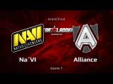 NaVi vs Alliance, SLTV S8 LAN Finals, Grand Final, Game 1