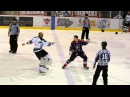 Rudesse Roughing Sean McMorrow vs Sébastien Roy 1 LNAH 28 11 14