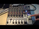 How to use a Behringer 1204FX mixer for live sound reinforcement